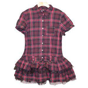 NWOT Plaid Dress Sz XXL